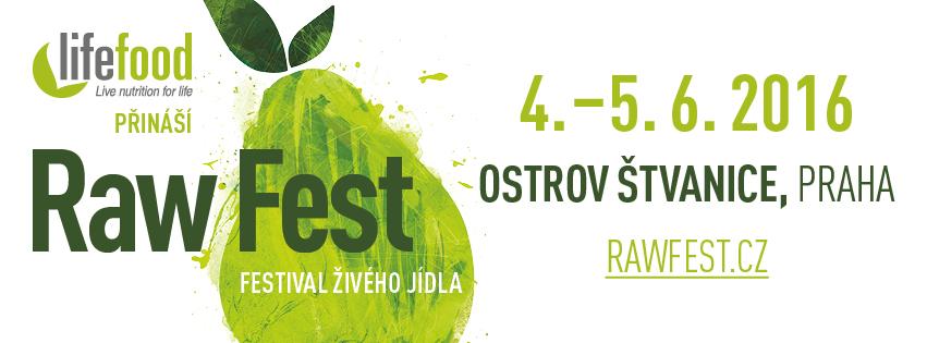 RawFest - Praha Štvanice - festival živého jídla
